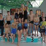 Die Mühlmattenschule gewinnt die Freiburger Grundschul-Schwimmmeisterschaften 2014
