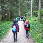 Auf Klassenausflug im Naturerlebnispfad nach Hinterzarten