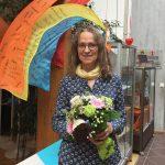 40-jähriges Dienstjubiläum von Edith Jakob