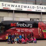 Die 2a zu Besuch beim SC Freiburg
