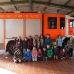 3. Klassen zu Besuch bei der Feuerwehr
